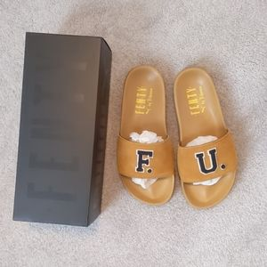 Fenty slides